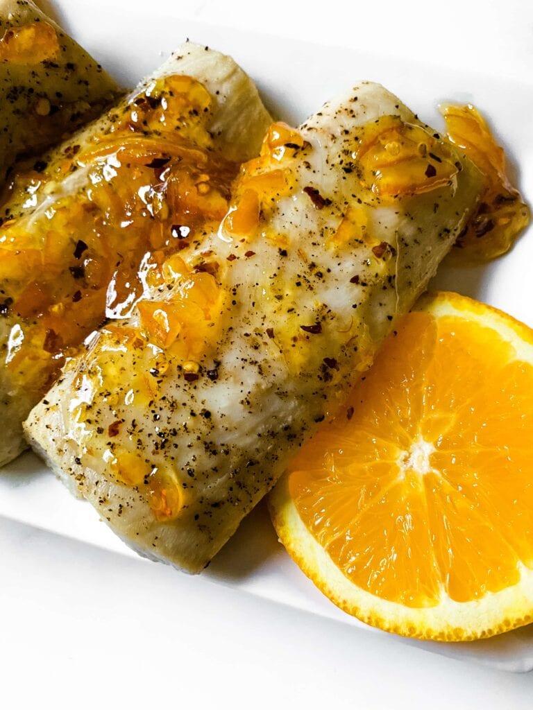 Citrus Glazed Mahi Mahi