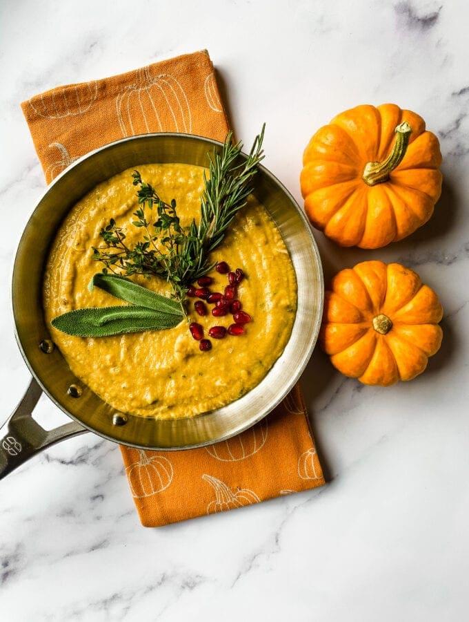 Creamy Pumpkin Sauce Cooking With Fudge
