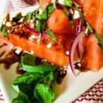 Balsamic Watermelon Salad