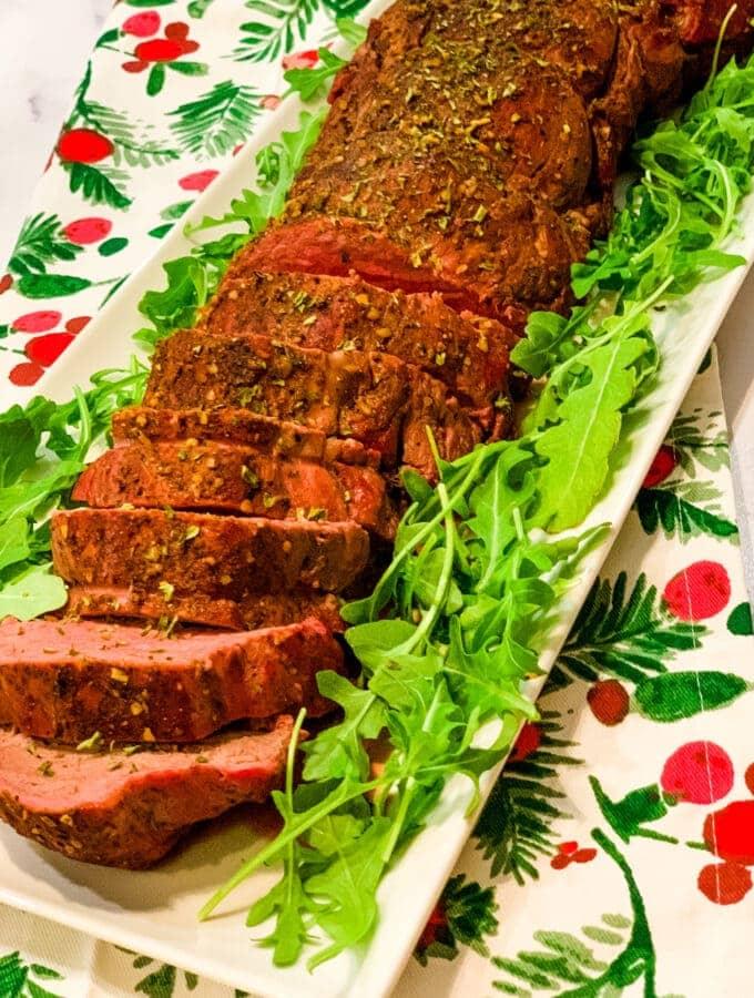 Classic Smoked Beef Tenderloin