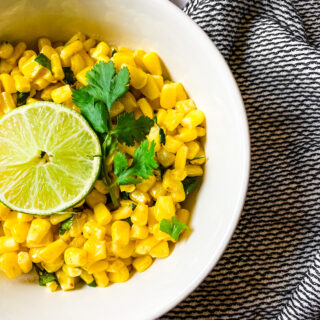 Zesty Mexican Style Corn