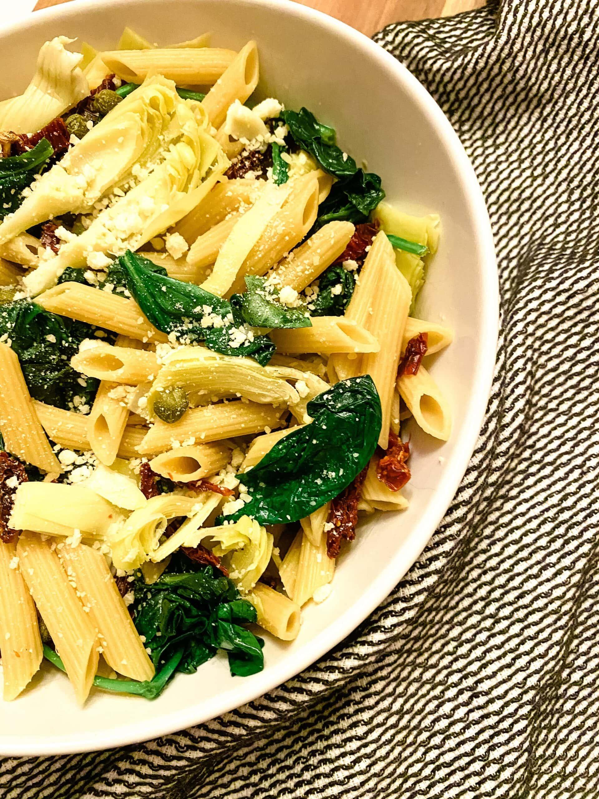 Healthy Mediterranean Pasta
