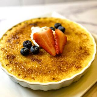 Lightened Up Crème Brûlée