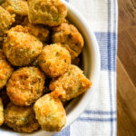 Air Fryer Fried Okra - Cooking With Fudge