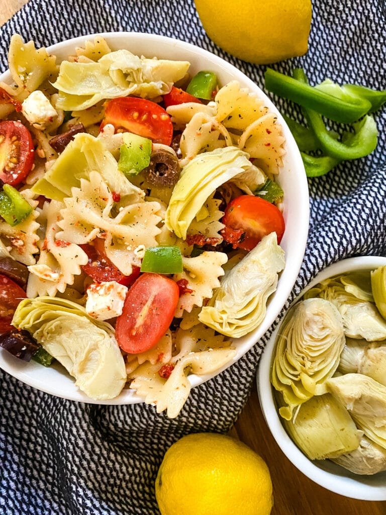 Mediterranean Pasta Salad - Cooking With Fudge